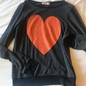 Wildfox Heart Sweater